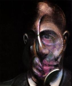 Francis Bacon - retrato de michel leris , 1976 vv