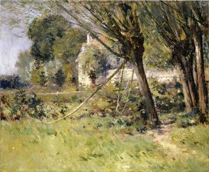Theodore Robinson - Willows