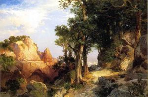 Thomas Moran - à Berry Trail - Grande Canyon of Arizona