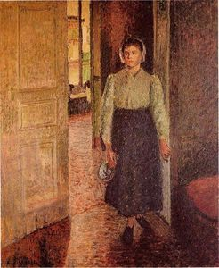 Camille Pissarro - The Young Maid