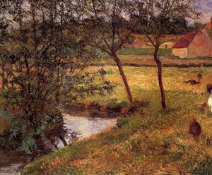 Paul Gauguin - Stream, Osny