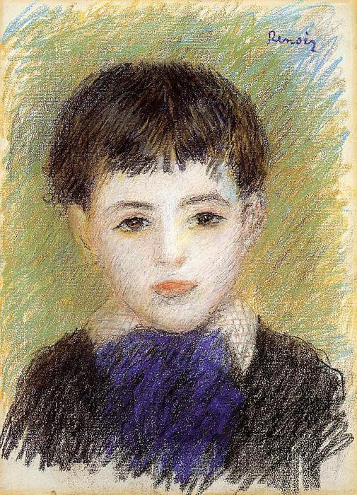famous painting Retrato de Pierre of Pierre-Auguste Renoir