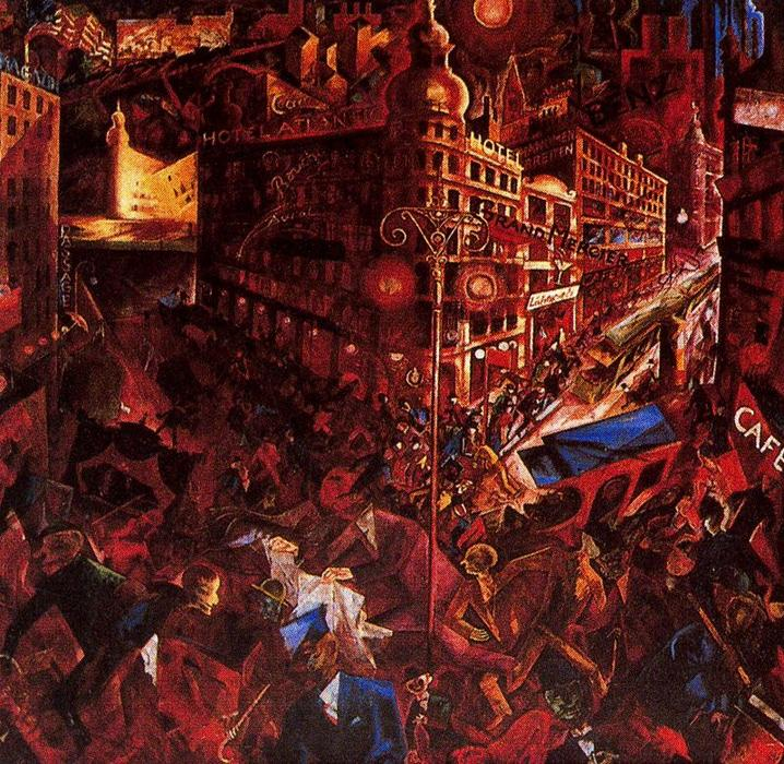 famous painting a cidade of George Grosz