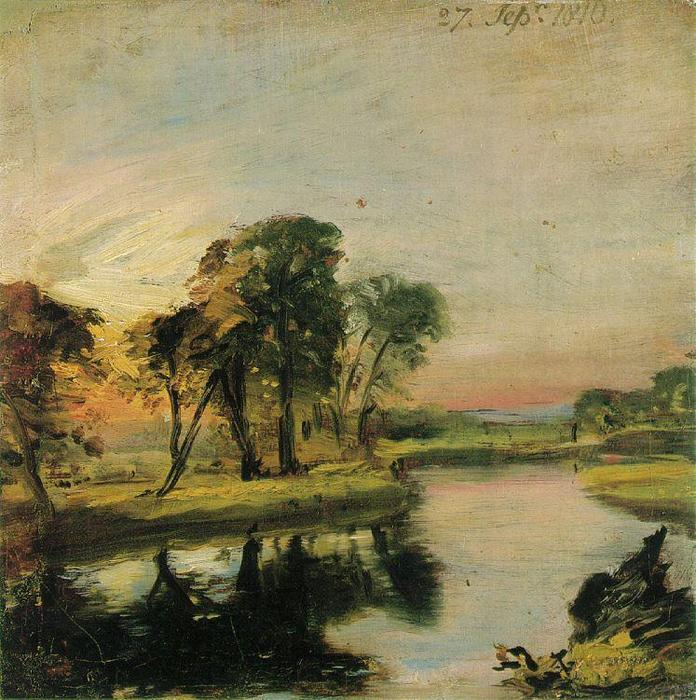 famous painting Ver no Stour of John Constable