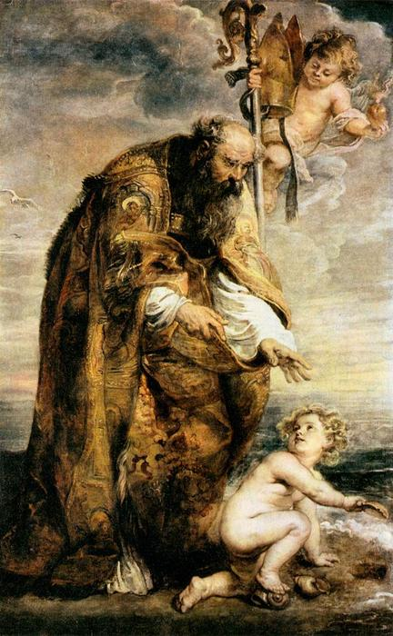 famous painting St . Agostinho of Peter Paul Rubens