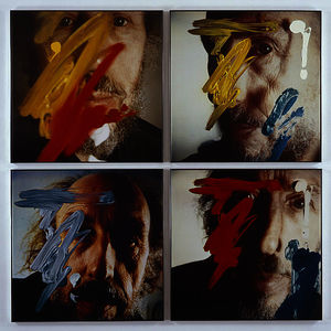 Richard Hamilton - Quatro Self-Portraits 05 . 3 . 81