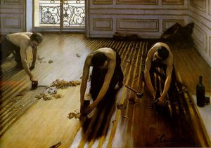 Gustave Caillebotte - strippers piso