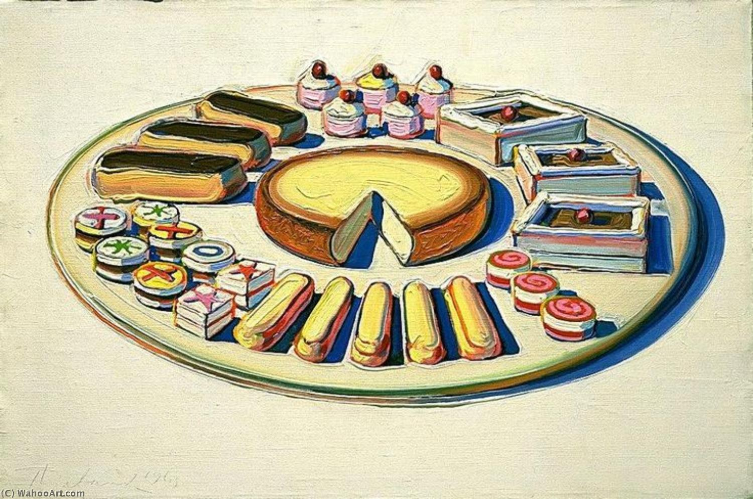 famous painting arte pop of Wayne Thiebaud